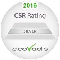 EcoVadis - Silver Recognition Level